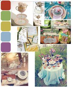 Alice in Wonderland Mood Board Options