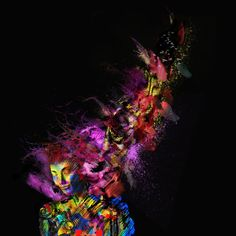 Abstract Mind - Jean Maurice Damour (Print)