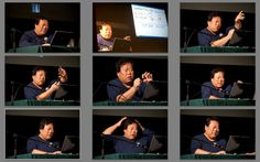 Faces of our Teacher Mingtang Xu (Facebook Ingus Druva)