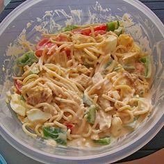 Spaghettisalat a la Schateffi