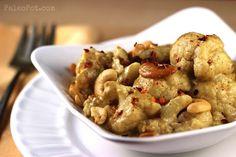 One-Pot: Creamy Paleo Cashew Curry Cauliflower - PaleoPot - Easy Paleo Recipes - Crock Pot / Slow Cooker / One-Pot : PaleoPot – Easy Paleo Recipes – Crock Pot / Slow Cooker / One-Pot