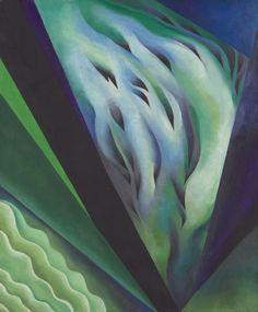 Blue and Green Music, Georgia O'Keeffe