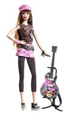 Barbie Collector K7906 Hard Rock Caffé