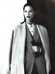 Christy Turlington - Anne Klein F/W 1992