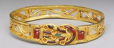 Bijoux de la Grèce antique. Bracelet. Metropolitan Museum
