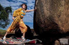 Vogue Brazil August 2014 | Crista Cober by J.R Duran [Editorial]
