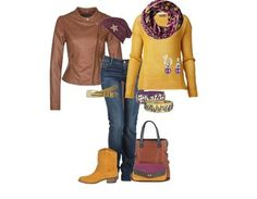 Casual outfit Herfst