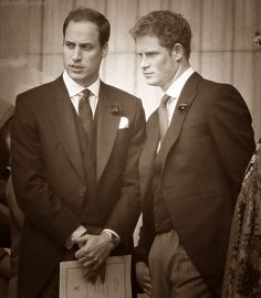 Prince Harry & William