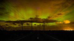 Aurora Hampered slightly by cloud, Southland NZ - Imgur