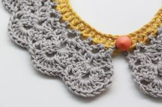Lutter Idyl: Crochet Peter Pan Collar - with pattern in english and danish