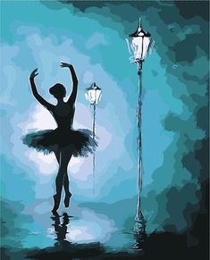 Ballet paint by numbers