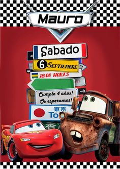 4 años PARTE 2: Fiesta Cars - 4 years PART 2: Cars party