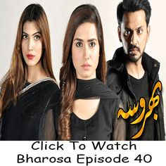 Watch Ary Digital TV Drama Bharosa Episode 40 in HD Quality. Watch all latest episodes of ary drama Bharosa and other Ary Digital Dramas online