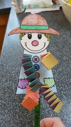Dingle dangle scarecrow craft for preschoolers …