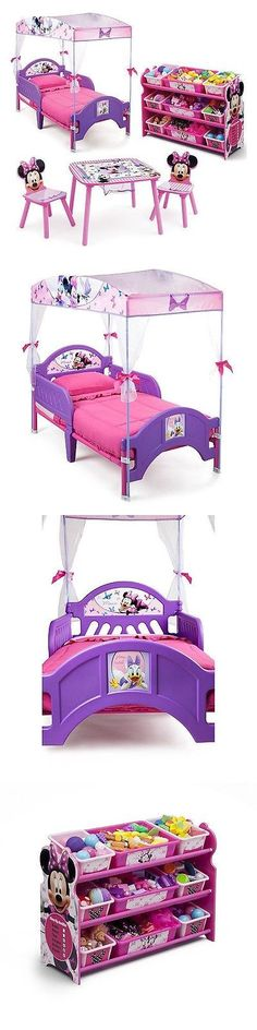 Bedroom Sets 20480: Delta Children Minnie Mouse 3-Piece Toddler Canopy Bedroom Set |No Sales Tax| -> BUY IT NOW ONLY: $169.99 on eBay!