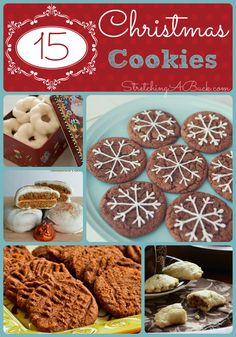 15 Amazing Christmas Cookie Recipes