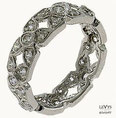 WB-186 #InfinityLine #vintagestyle #weddingring #stackable