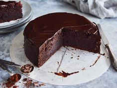 Perfect Chocolate Cake, Dessert Recipes For Kids, Chocolate Recipes, Cake Recipes, Food And Drink, Easy Meals, Favorite Recipes, Sweets, Baking