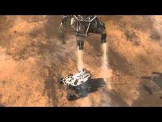 NASA Rover Curiosity Landing on Mars