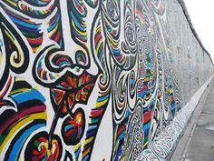 Berlin east side gallery graffiti mural. #streetart   <<>> Gotta do a really awesome Graffiti mural like this...