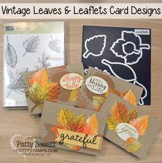 Vintage Leaves Fall Card Set - Stampin' Up!
