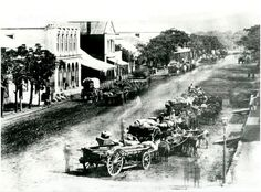 Photograph of West Street looking West, Durban