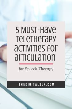 Looking for no print articulation activities you can use for teletherapy? In this post, I've rounded up 5 teletherapy activities you can use for articulation. Articulation Therapy, Articulation Activities, Speech Therapy Activities, Learning Activities, Speech Language Therapy, Speech Language Pathology, Speech And Language, Play Therapy Techniques, Therapy Ideas