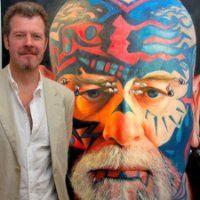 Karl Rudziak (portrait of The Scary Guy)