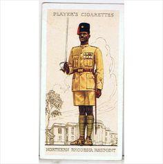 1939 Players Cigarette card 'Military Uniforms of the Brit. Empire O/seas' no.46 on #eBid United Kingdom
