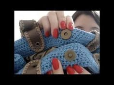 Aula Completa - Bolsa Rosa de crochê, barbante nº 6 - YouTube