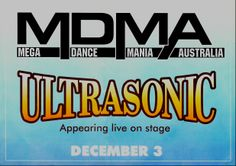 MDMA : Saturday, 3 December 1994 Sydney, Rave, Australia, Flyers, December, Raves, Ruffles, Leaflets, Rave Music
