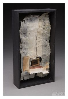 ⌼ Artistic Assemblages ⌼ Mixed Media & Collage Art - Louise Strawbridge shadow box art assemblage