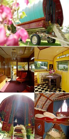 Author: Charlotte O'Shea Purveyor of short shorts. Hopes to grow old disgracefully. Retro Caravan, Gypsy Caravan, Gypsy Wagon, Vintage Travel Trailers, Vintage Campers, Camper Life, Camper Van, Gypsy Living, Cool Tents