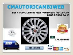 """FIAT DOBL UNO 16/"""" Copriruota Coprimozzo 750"""