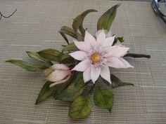 cold porcelain flower