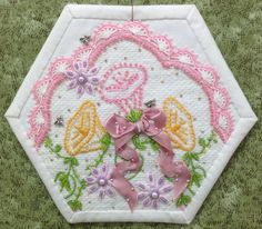 Completed block 33, by Rhonda Dort.