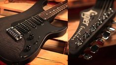vigier guitars velours noir balck finish exclaibur web