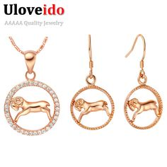 Find More Jewelry Sets Information about Women/Girls Rose Gold Plated Crystal Jewelry 925 Silver Set Necklaces & Pendants Earrings 12 Constellations Gift Ulove T394,High Quality earring hanger,China earrings green Suppliers, Cheap earrings crown from ULOVE Fashion Jewelry on Aliexpress.com