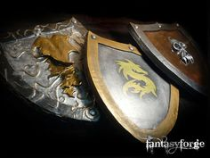 LARP shield: shield set by ~FantasyForgeLARP on deviantART