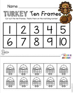 November Math and Literacy Pack - FREEBIES — Keeping My Kiddo Busy