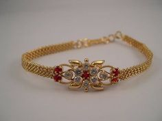 diamond bracelets which are Fabulous. Gold Ring Designs, Gold Bangles Design, Gold Earrings Designs, Gold Jewellery Design, Bracelet Designs, Bead Jewellery, India Jewelry, Necklace Designs, Indian Jewelry Sets