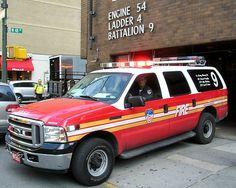 FDNY Battalion 9 Fire Chief Car
