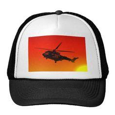 Army Helicoptor Trucker Hat