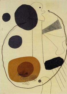 Juan Miro Composition with Wire, 1929