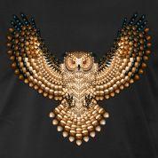Beadwork Great Horned Owl