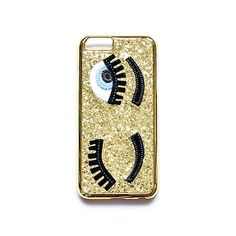 """iPhone 6 hoesje """"Wink at me"""" Gold"""