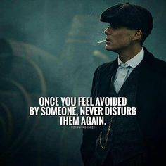 Once you feel avoided by someone..