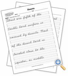 Handwriting practice worksheet for KS1 pupils. Trace over