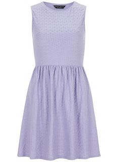 Lilac ottoman dress