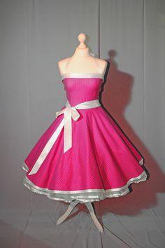 Spodnička šaty rockabilly 50s fashion růžové Junior Formal Dresses 2edee5b5fc